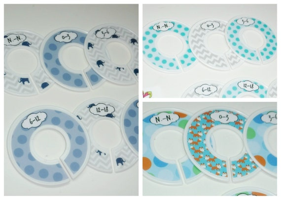 baby boys closet divides for  organizing space, n.-n. to 24 month (6 pcs)