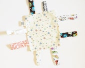 Organic Tag Blanket - Washable - Ready to ship