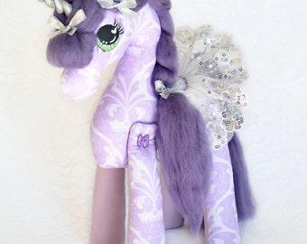 Whimsical Keepsake Unicorn Doll