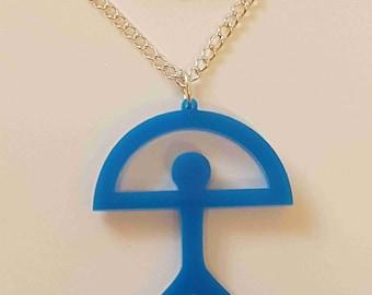 Indalo Man Necklace - Acrylic