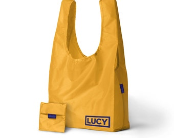 Personalized Nylon Bag, Personalized Shopper, Custom Bag, Personalized Gift, Monogram Gift, Bridesmaid Gift, Bachelorette Gift