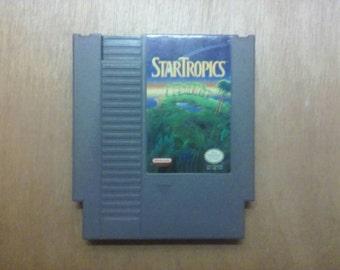 StarTropics Nintendo Nes Game