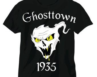 "Coming Soon Ghosttown 1935 yellow  ""glow in the dark"" snake eyes"