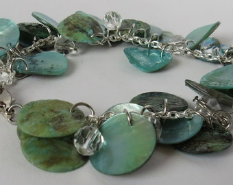 Rivershell Bracelet-Green