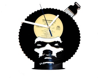 Pete Rock vinyl record clock Music wall decor