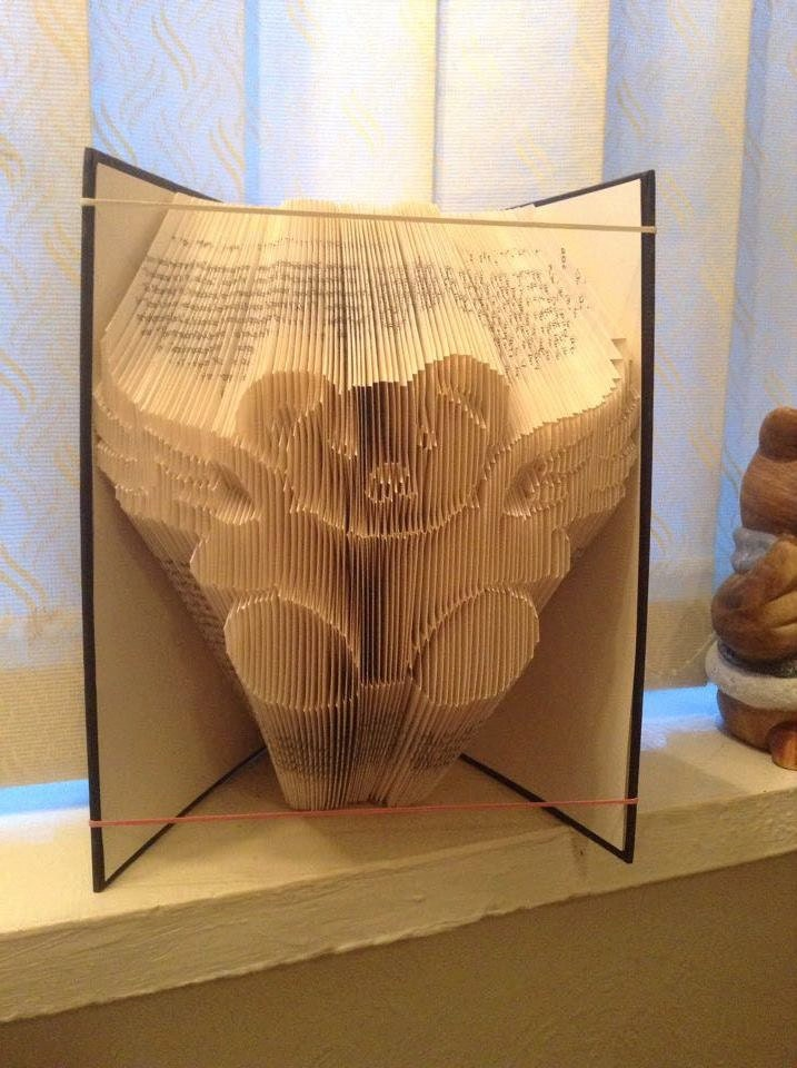 book folding angel instructions