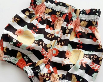 Baby bloomers {Madeline} diaper covers, baby girl clothing