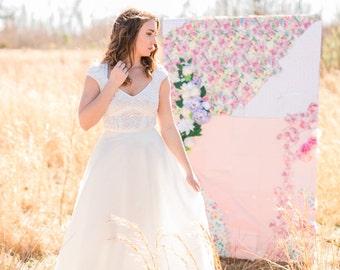 Bridal Long Tulle Skirt