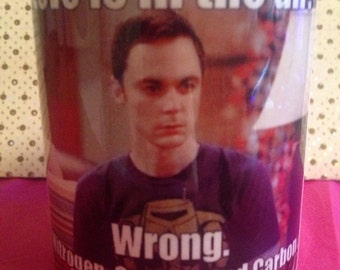Big bang theory Inspired tea/coffe Cup Mug