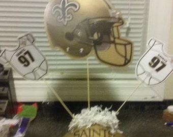 New Orleans Saints football centerpiece