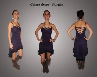 Celest dress - Purple