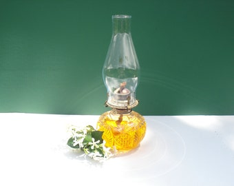 Vintage Lamplight Farms Kerosene Lamp