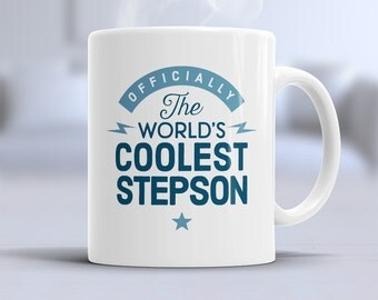 Gift For Stepson On Wedding Day : gift for step son step son gift step son mug birthday gift step son ...