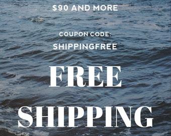 Free shipping coupon code: SHIPPINGFREE