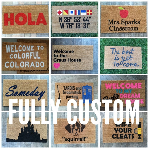 Design Your Own Mats by NickelDesignsShop