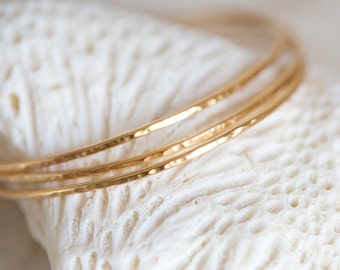 Gold Bangles, Gold Bracelet, Brass Stacking Bangles, Nu Gold Bangle