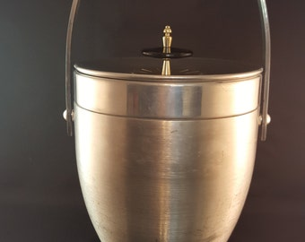 SALE - Kromex Aluminum Ice Bucket