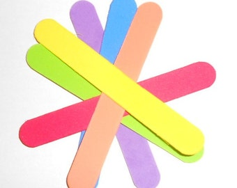 Foam Popsicles, DIY Bird Toys (12 pcs.)