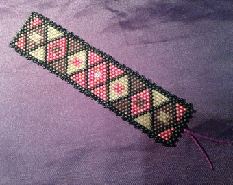 Handmade Beaded Bookmark