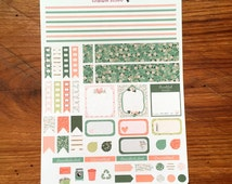 A37 & A38 - Thankful Weekly Kit Horizontal/Vertical Planner Stickers | Perfect for Your Erin Condren Life Planner