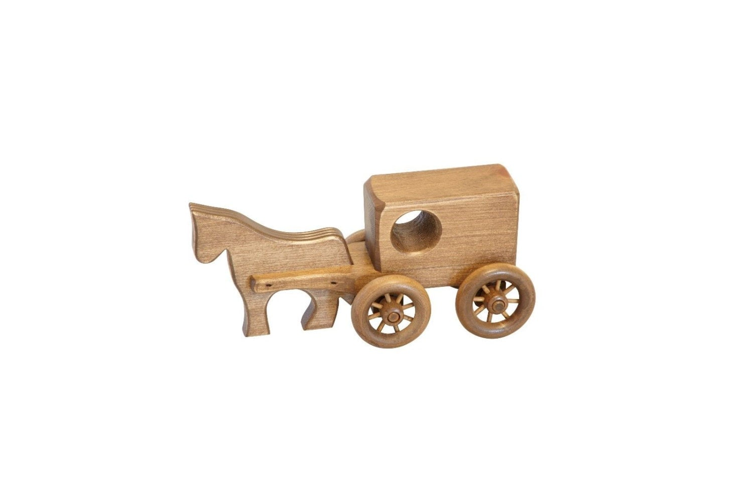 Toys Are Us Wooden Toys : Retro toys children s small wooden toy horse buggy