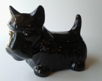 Dog Cookie Jar Black Scottie Dog Cookie Jar Scottish Terrier