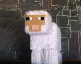 Minecraft Crochet Pattern, Minecraft Sheep