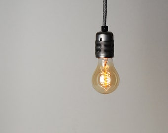 A19 Radio Spiral Filament Vintage Edison Light Bulb | E27 es screw | 40w
