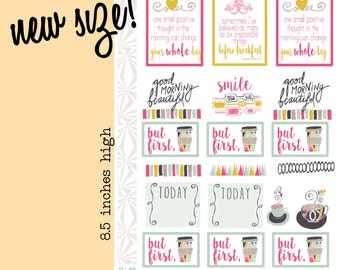 Morning Person Planner Stickers (#094)
