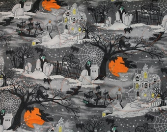 Halloween Throw Quilt , 68 inches long 40 wide folds into a pillow