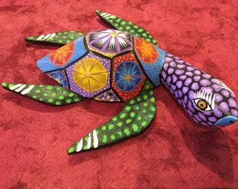 Alebrije Turtle - by Zeny Fuentes