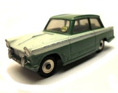 1960s Vintage Dinky 189 Triumph Herald Motor Car Toy Made in England