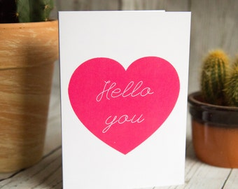 SALE - Hello You - Greetings Card