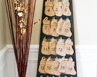 Christmas Advent Calendar Ladder
