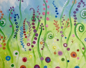 "Singing Meadow 16x20"" Painting"