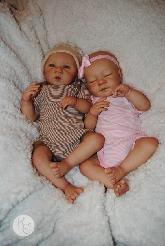 17'' Full Silicone Rebekah Reborn Baby Doll Girl ... |Real Babies For Adoption