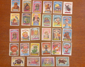 Garbage Pail Kids trading cards/stickers