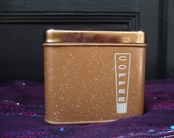Speckled Copper Lincoln Beautyware Coffee Canister