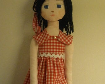 doll gingham dress