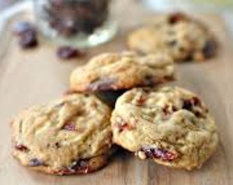 Gourmet Cherry Cordial Double - Chocolate Chip Cookies