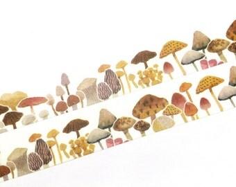 Mushrooms washi tape (T0099)
