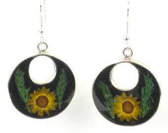 Nahua Flower Drop Earrings - Free Shipping!
