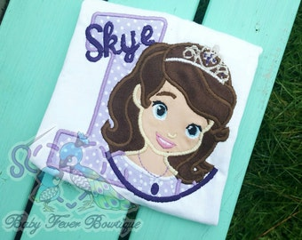 the 1st princess birthday shirt