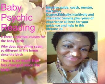 Psychic Reading Baby Children Newborn Family Psychic Medium PDF listing