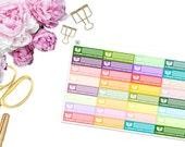 Online Order Trackers -- Matte Planner Stickers