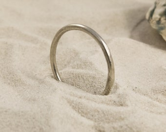 simple ring, silver