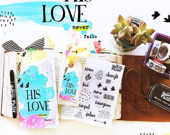 His Love Devotional Kit