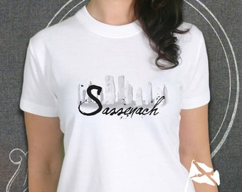 Ladies Sassenach Scottish T-Shirt inspired by Outlander