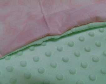 """American Doll or 18"""" Doll Pillow and Blanket."""