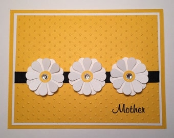Handmade Mother's Day Card, Mom, Mother, Mommy